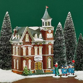 department 56 heritage village collection christmas in the city series brighton school 58876