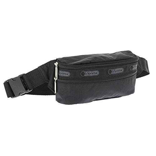 LeSportsac Women's Classic Double Zip Belt Bag, Black