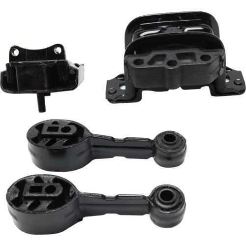Evan-Fischer EVA210010101716 Motor and Transmission Mount Kit for Saturn SL-Series 92-02 4 Cyl 1.9L (4 Cyl Auto Transmission)