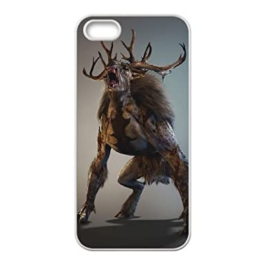 fiend the witcher 3 wild hunt iPhone 4 4s Cell Phone Case