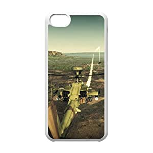 DIY Helicopter Theme Phone Case Fit To iPhone 5C , A Good Gift To Your Family And Friends