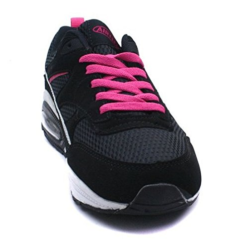 sport Max 8 Footwear formateurs femmes pour UK A noir 3 Bubble H running fuchsia chaussures filles fitness tailles Air 5Yza0