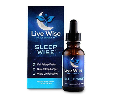 Sleep Aid - All-Natural, Non-Habit Forming with Melatonin, Valerian Root Extract, Mucuna Pruriens, Vitamin B-6 and Colostrum. Fall Asleep Faster, Stay Awake Longer, Wake Up Refreshed with Sleep Wise