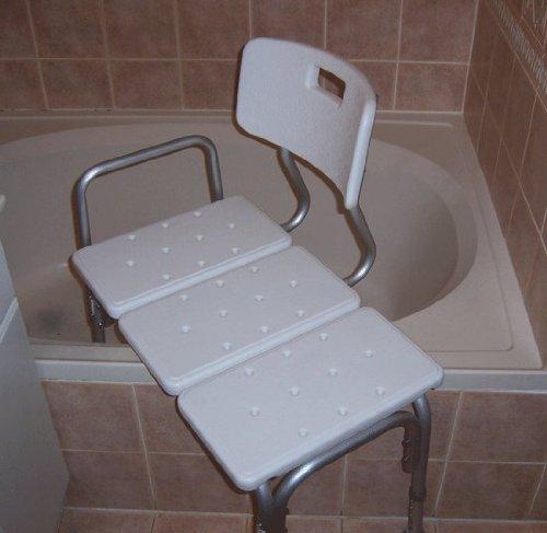 Medmobile 174 Bathtub Transfer Bench Bath Chair With Back