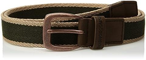 Dc Men's Duel Tone Belt, vintage green, Large/X-Large - Eyelet Belt