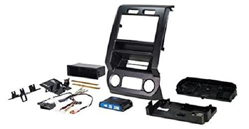 PAC RPK4-FD2201 Ford Integrated Radio Replacement Kit 2015-17 by PAC
