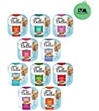 Purina Bella Small Breed Petite Wet Dog Food Variety Pack - 10 Flavor Bundle 3.5 Oz Each - Pack of 10 Plus Can Cover (11…