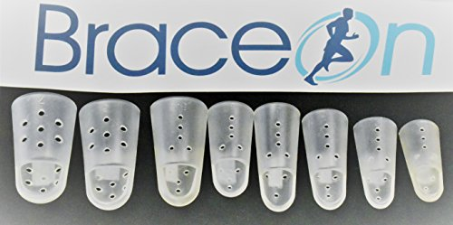 Finger STAX Clear Multi Pack Sizes 1 Through 7 (8 Pieces) by Brace On