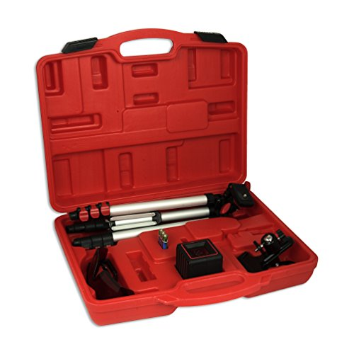 AdirPro Cube 360 Horizontal Cross Line Laser with Accessories, Red/Black by AdirPro (Image #4)