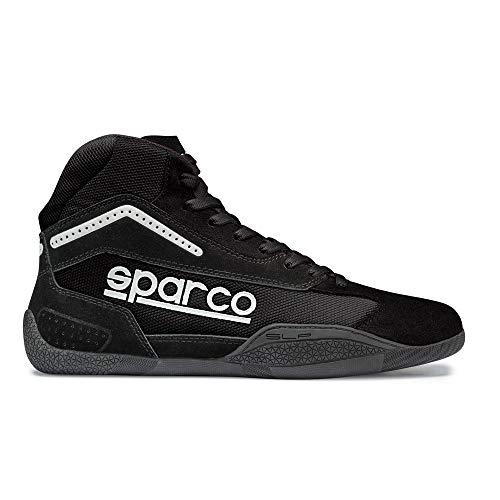 Sparco Gamma KB-4 Karting Shoe 001259 (Size: 43, Black) (Sparco Mesh)