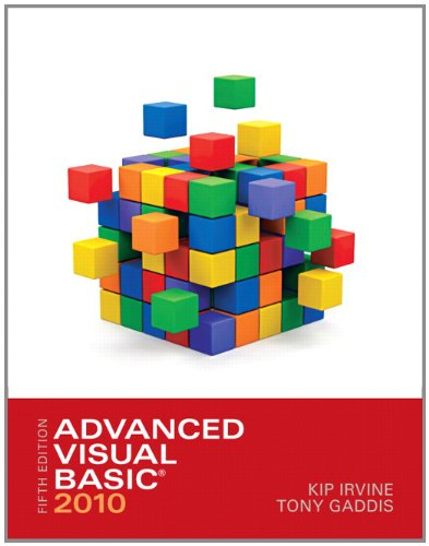 Advanced Visual Basic 2010 (5th Edition) by Pearson