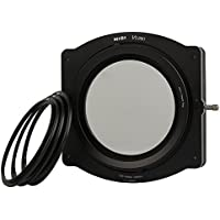 NiSi 100mm System V5-PRO Filter Holder Kit- 67mm 72mm 77mm Adaptor Ring+82mm Holder Ring+CPL(86mm) for 52mm,55mm,58mm,62mm,67mm,72mm,77mm,82mm lens compatible with Lee Cokin Hitech Singh-Ray