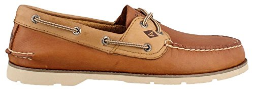 Sperry Top-Sider Herren Leeward 2-Augen Bootschuh Tan Multi