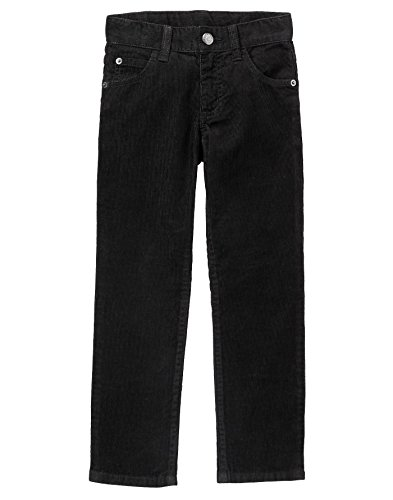 5 Pocket Cord Pant - Gymboree Little Boys' 5 Pocket Cord Pants, Black, 4