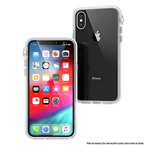 Catalyst iPhone X Case [Compatible iPhone Xs] Impact Protection, Military Grade Drop and Shock Proof Premium Material Quality, Slim Design Clear