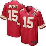 Majestic Athletic Men's #15 Kansas City Chiefs Patrick Mahomes II StitchJersey