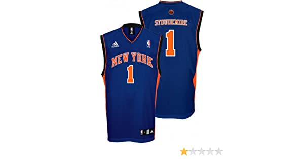 6ae8d4520749 ... Amazon.com NBA New York Knicks Amare Stoudemire Road Replica Youth  Jersey