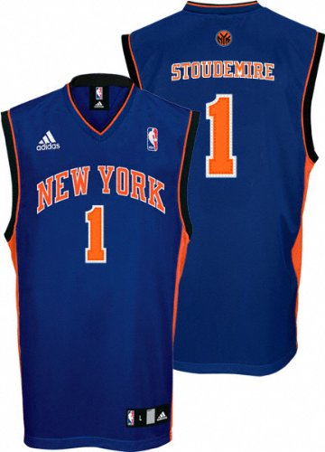Amazon.com   NBA New York Knicks Amar e Stoudemire Road Replica ... e9003fa4f