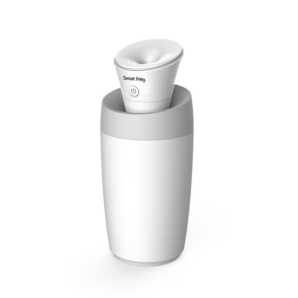 Portable USB Humidifier Multifunctional Portable Mini Humidifier USB Cool Mist Humidifier with Water Bottle Premium Humidifying Unit with Whisper-Quiet Operation Automatic Shut-Off