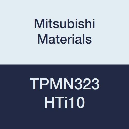 Round Honing 0.047 Corner Radius 0.375 Inscribed Circle 0.125 Thick Triangular Class M Pack of 10 Grade HTi10 Mitsubishi Materials TPMN323 HTi10 Uncoated Carbide Milling Insert