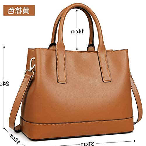 Single Autunno Messenger Simple Leather Inverno nero Saoga Fashion Handbag e Shoulder Ladies Wild pIxqa60