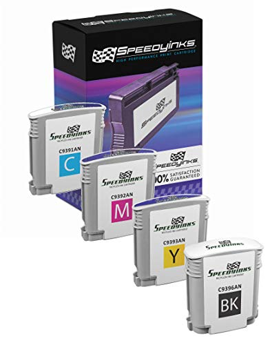 (Speedy Inks Remanufactured Ink Cartridge Replacement for HP 88XL High-Yield (1 Black, 1 Cyan, 1 Magenta, 1 Yellow, 4-Pack))