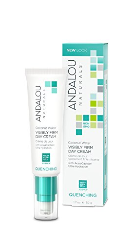 Firm And Tone Eye Cream - Andalou Naturals Coconut Water Visibly Firm Day Cream 1.7 Ounce