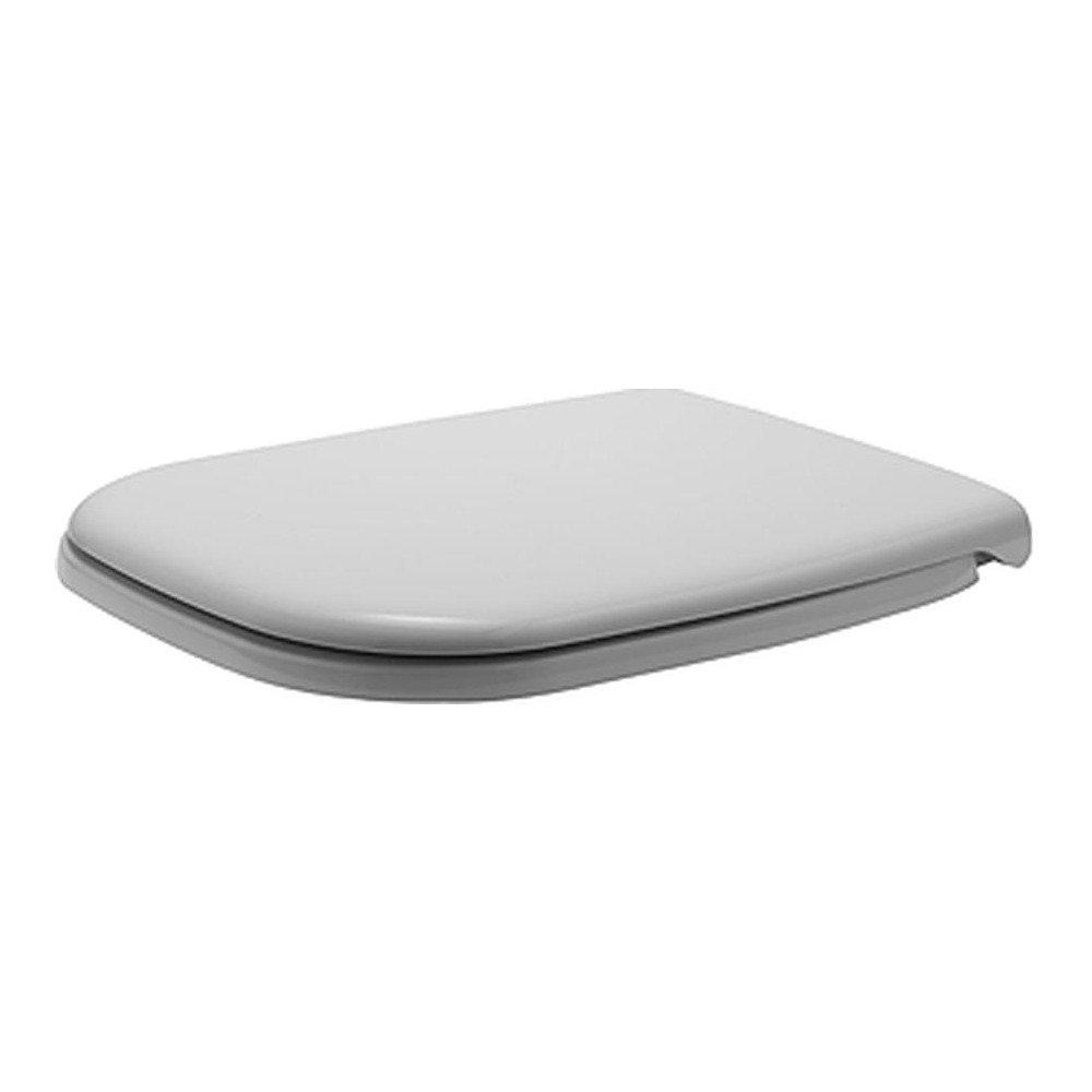 Duravit D-Code Wandtiefspül-WC Set Rimless®//spülrandlos 45700900A1 inkl WC-Sitz