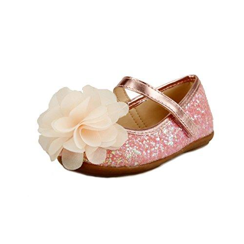 The Doll Maker Glitter Flat - - Flats Doll Shoes