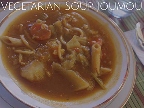 (Vegetarian Soup Joumou)