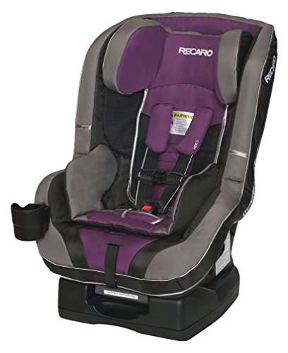 RECARO Roadster Convertible Carseat, Plum, 5-65 Pounds