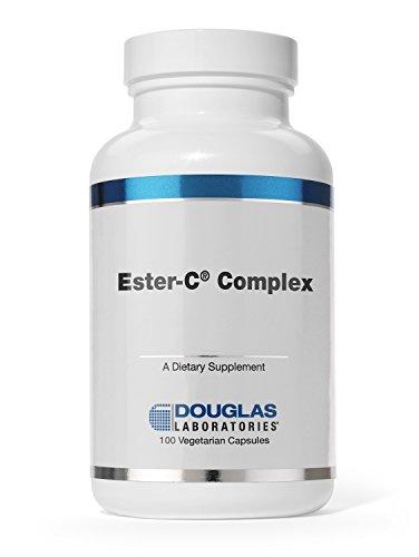 (Douglas Laboratories - Ester-C Complex - Unique Combination of Non-Acidic Vitamin C and Calcium - 100 Vegetable Capsules)