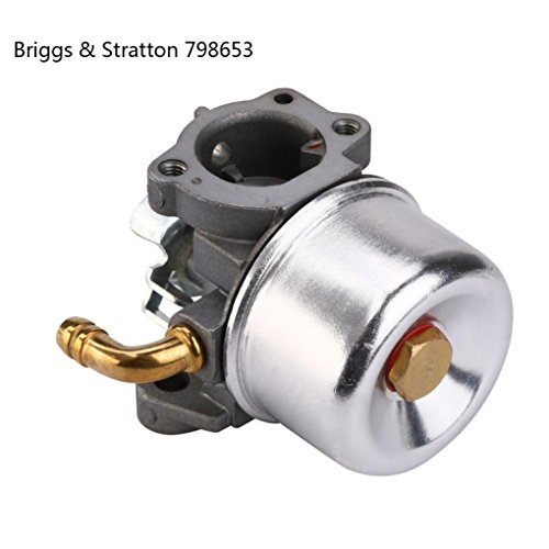 New Carburetor for Brigss & Stratton 799868 498254 497347 497314 498170 Carb (silver)