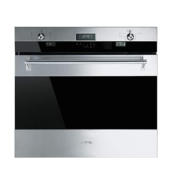 Smeg SOU330X1 Classic Aesthetic 30-Inch Stainless Steel Electric Multifunction Wall Oven 1