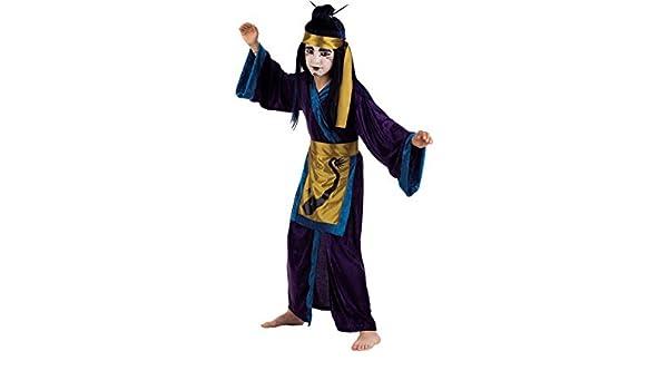 Limit Sport - Disfraz Samurai Dragon T.6: Amazon.es: Juguetes y juegos