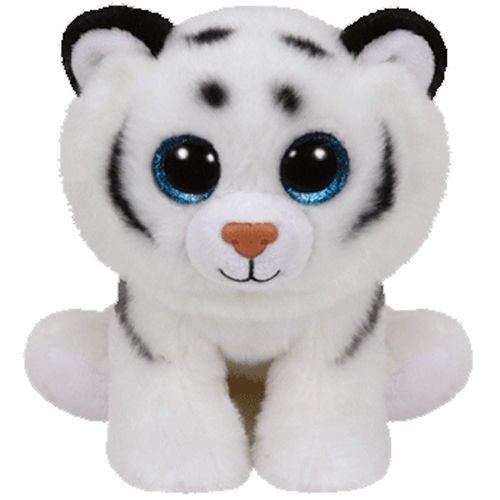Ty Classic Beanies Tundra the white tiger 25cm Medium Buddy Size 9'' by TY Classic