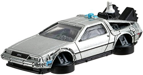 Hot Wheels Arcade Games (Hot Wheels Back to the Future II Time Machine Vehicle)