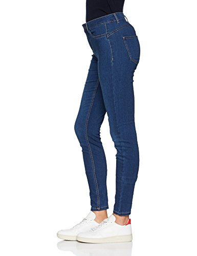 Denim Blue Medium Pieces medium Denim Donna Blu Jeans Skinny 0v0wa8