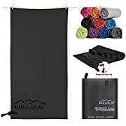 Style Slice Microfibre Towel – Quick dry Lightweight Absorbent Travel Towel for Sports Beach Gym Swimming Camping Hiking…