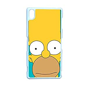Generic Design Back Phone Cover For Kids Design With Simpson For Sony Z3 Choose Design 1