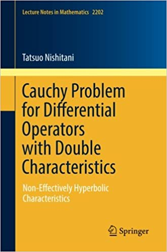amazon cauchy problem for differential operators with double