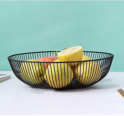 Fruit Basket, Fruit Groente, Ei, Brood Opslag Bowl Houder Stand voor Keuken Counter, Kast en Pantry RVS Draad Ontwerp…