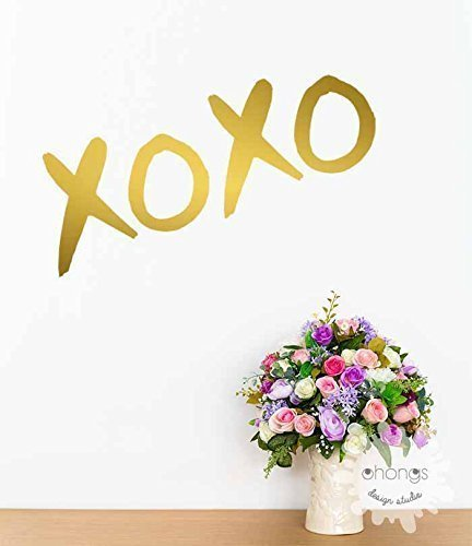 XOXO Wall Decal / XOXO Sticker / Custom Letters Decal / quote / gift / home decoration