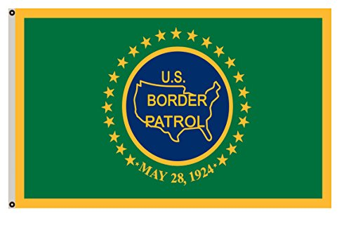 Fyon Department of Homeland Security Banner The Border Patrol Flag 3x5ft