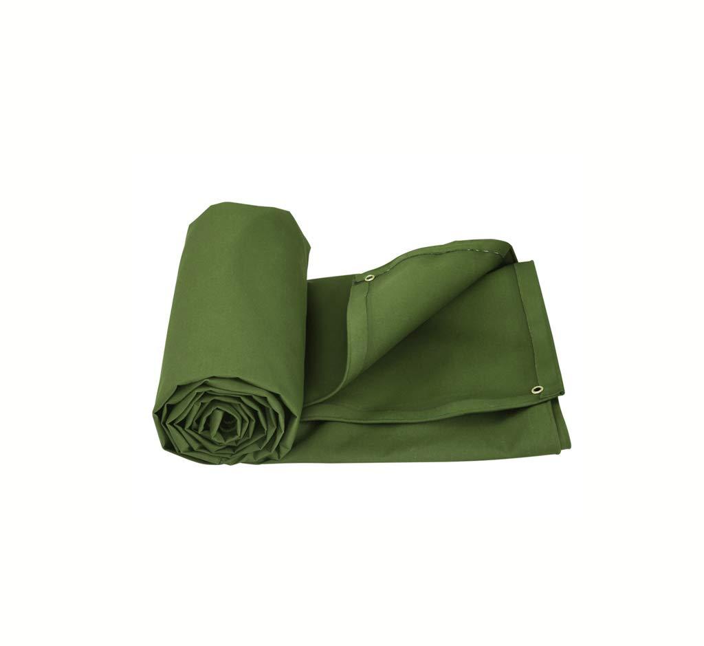 防水性のある頑丈な厚手キャンバス、耐雨性と耐熱性の日焼け防止カバー付きターポリン、厚さ0.6mm (サイズ さいず : 6 * 4m) 6*4m  B07JGX212Q