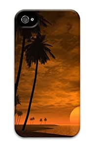 iphone 4 stylish cases Landscapes beach 2 3D Case for Apple iPhone 4/4S