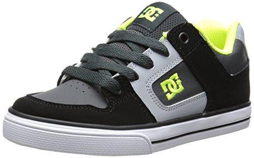 DC Shoes Pure - Zapatillas bajas para niño, multicolor