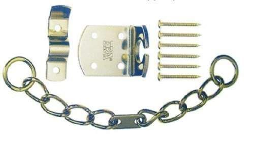 Chrome Door Chain for UPVC, Timber Doors. High Quality ERA Security Chain