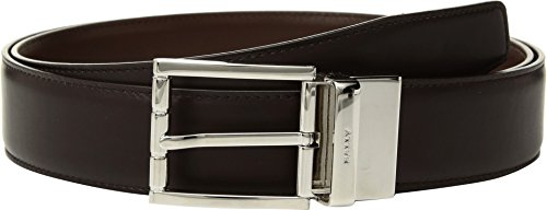 Bally Men's Astor Adjustable Reversible Belt, Mid Brown/Mid Brown, One Size Bally Leather Belt