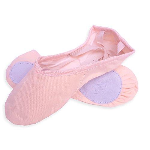 FullDanza, Scarpe da ballo bambine rosa Salmone